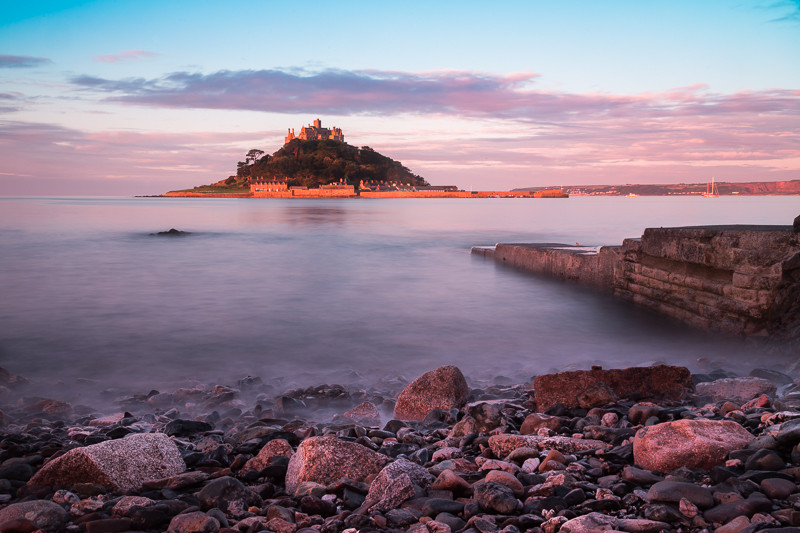 St Michaels Mount. Not one in a million - one of a billion