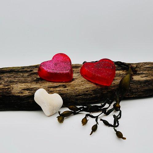 Jasmine Heart Shaped Soap (2 Bars)