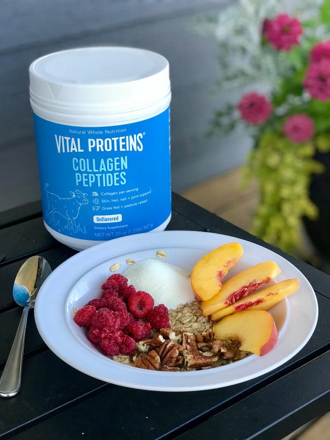 Collagen Fruit Oatmeal