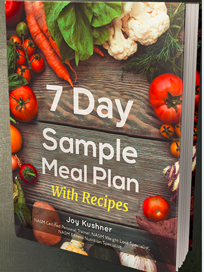 7 Day Sample Meal Plan with Recipes