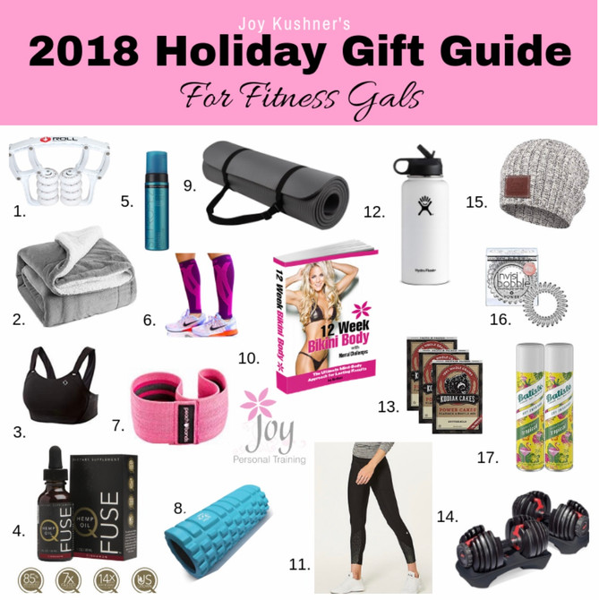 2018 Holiday Gift Guide for Fitness Gals