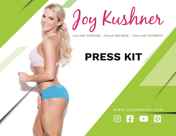 #1 Joy kushner Media kit updated version