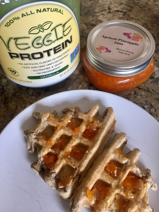 MRM Veggie Protein Waffles
