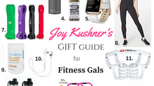 Joy Kushner's Gift Guide for Fitness Gals
