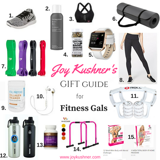 Joy Kushner's Gift Guide for Fitness Gals