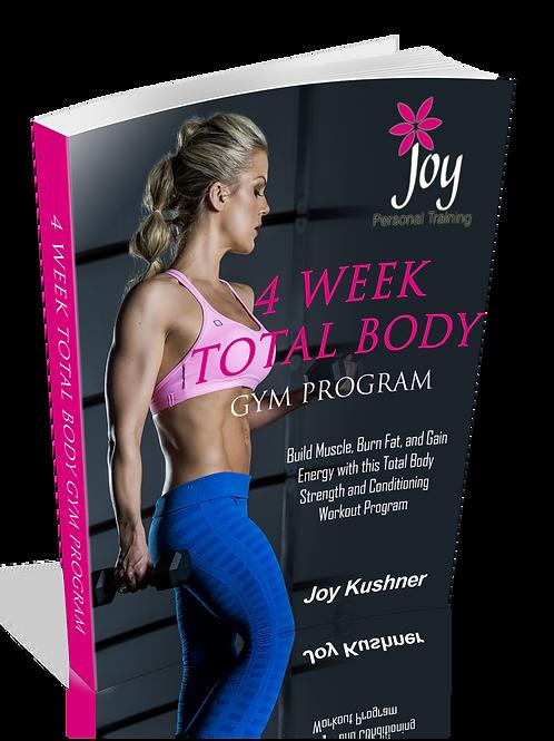 4 WEEK TOTAL BODY GYM PROGRAM