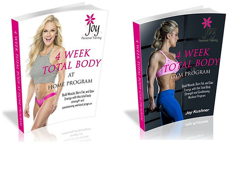 4 Week Total Body Programs
