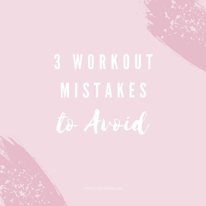 3 Workout Mistakes to Avoid When Starting or Getting Back into a Fitness Routine