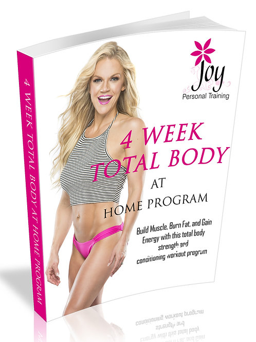 4 WEEK TOTAL BODY AT HOME PROGRAM