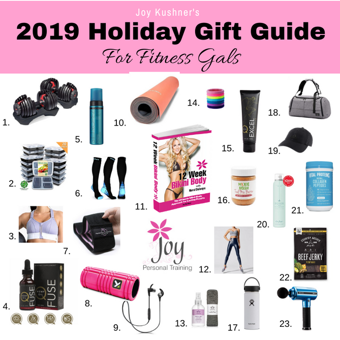 Joy's 2019 Holiday Gift Guide for Fitness Gals