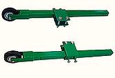 BF representações tem RODÍZIO PAREDE * Fabricado em tubo 40x40x3,0mm - rodas 4'' * Usado em Fachadas