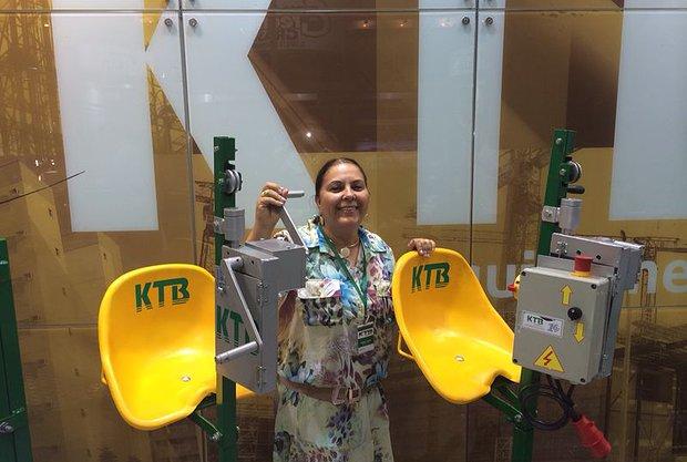KTB equipamentos na FEICON BATIMAT 3
