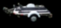 Reboque para Moto com capacidade de 3 motos