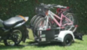 ECO BIKE com capacidade de 3 Bicicletas