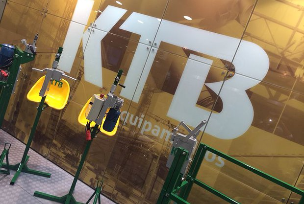 KTB equipamentos na FEICON BATIMAT 1