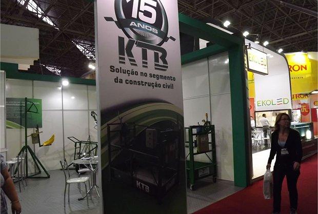 KTB equipamentos na FEICON BATIMAT 7