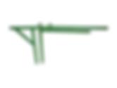 """BF representações tem * Fabricado em barra chata de 2""""; * Afasta do ponto 0 cm até 70 cm."""