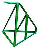 BF representações tem AFASTADOR DE PAREDE * Fabricado em aço Ø 3/8'' e cantoneira 1'' x 1/8'' * Usado em balancim suspenso 72cm e 90cm
