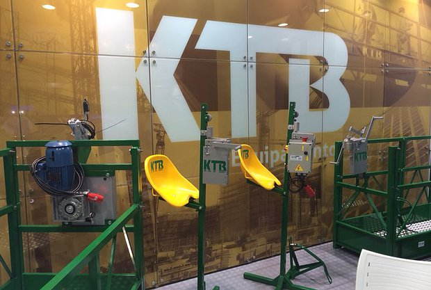 KTB equipamentos na FEICON BATIMAT 2