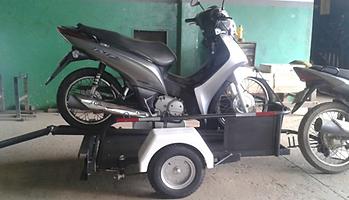 ECO S.O.S Reboque para Moto com capacidade de 1 motos