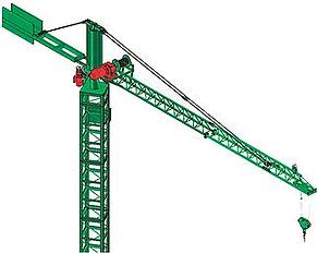 BF representações tem GUINCHO KTB DE PEQUENO PORTE P 500Kg foi projetado para facilitar o acesso para trabalho em fachadas, podendo ser utilizado para as mais diversas fases da obra.