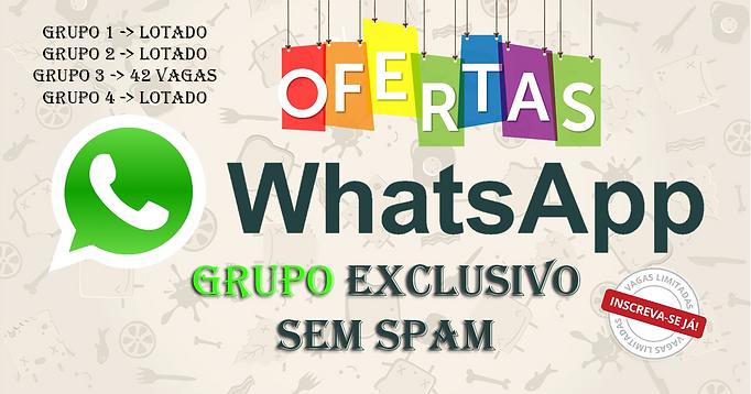 Grupo de WhatsApp Magazine Luiza