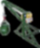BF representações tem * Capacidade de carga = 500 kg * Velocidade 20 m/min; * Lança com 1,30m; * Cabo de aço Ø 1/4 6x19 AA Galvanizado; * Lança 1,30m e 1,70m; * Motor WEG