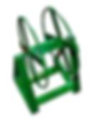 BF representações tem CARRETEL CABO DE AÇO * Fabricado em aço Ø 3/8'' e barra chata 38.1x4.76  * Capacidade p/ enrolar cabo de aço 5/16'' 6x19 AF Galvanizado