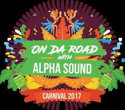On Da Road with Alpha Sound Tshirt