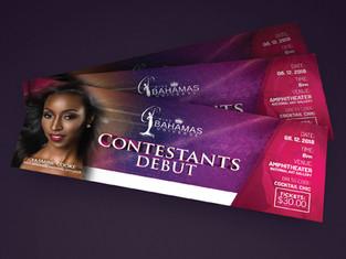 Miss Bahamas Universe Tickets