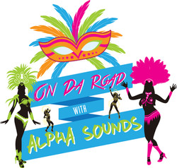 On Da Road with Alpha Sounds Tshirt