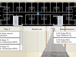 SMT Creates Data Visualization Interface for UBC Tall Wood Building