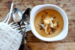 Sweet potato soup M