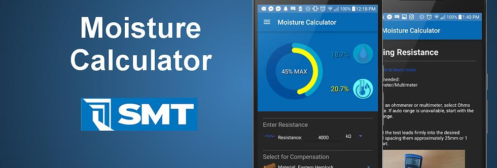 Moisture Calculator Application