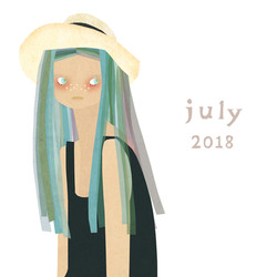 2018夏 少女