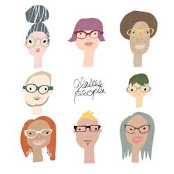 メガネな人々
