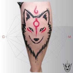 quadrilatera tattoo par sora's crown