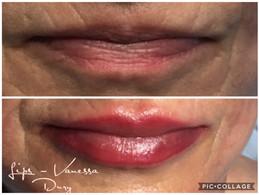 body make up lips par vanessa