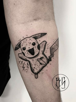 tattoo pikachu