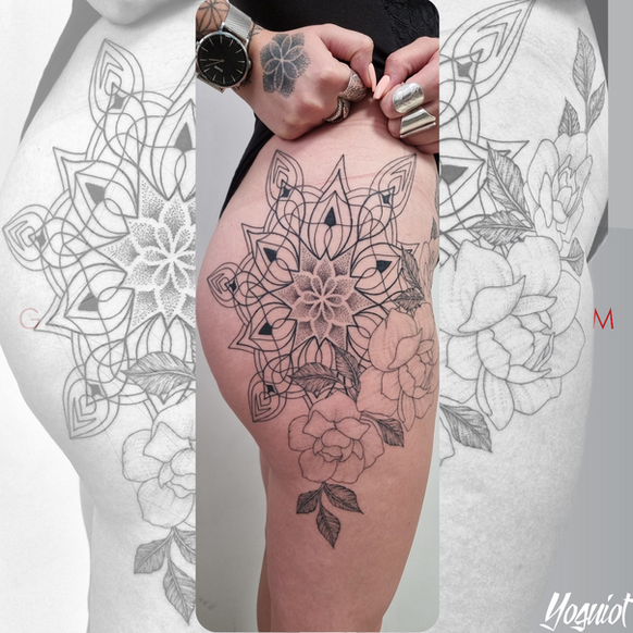 tatoueur yoguiot , quadrilatera tattoo shop, marguerittes