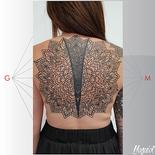 tatouage mandala ornemental