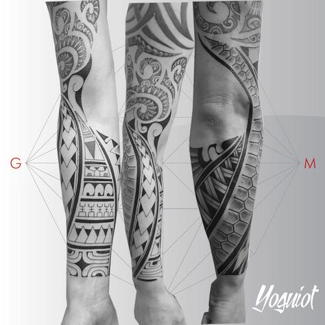 tatouage polynesien