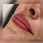 body make up lips par vanessa