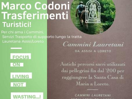 Boom del Turismo Lento nelle Marche... Marco Codoni al servizio dei Coasters e viaggiatori!