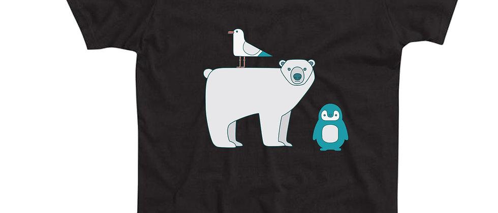 בייסיק טי חיות הקוטב