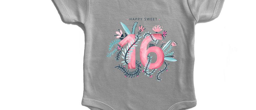 בגד גוף sweet 16