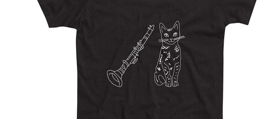 בייסיק טי חתול וקלרינט