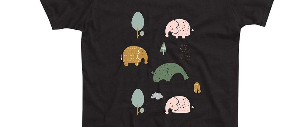 בייסיק טי פילים ביער