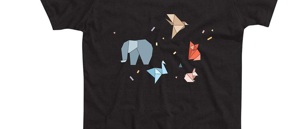 בייסיק טי אוריגמי חיות