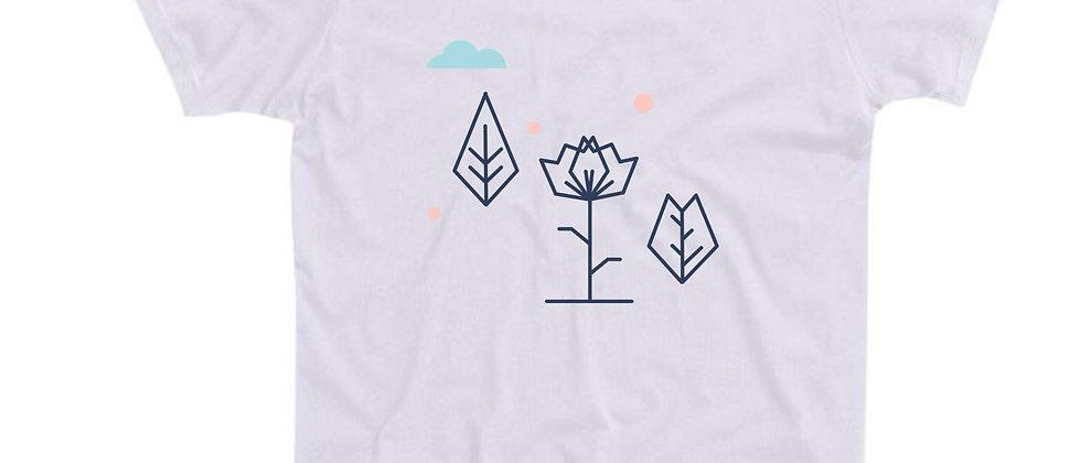 בייסיק טי פרח גאומטרי